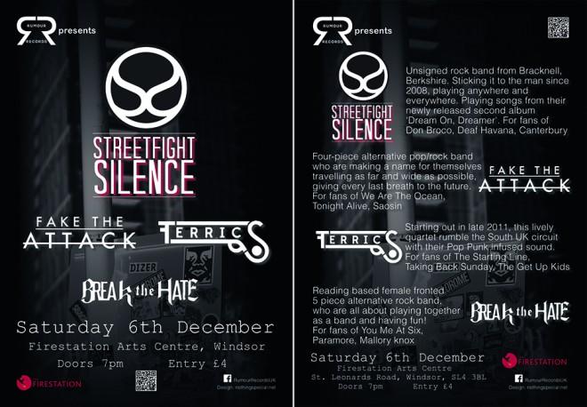 Rumour Records 6th December 2014